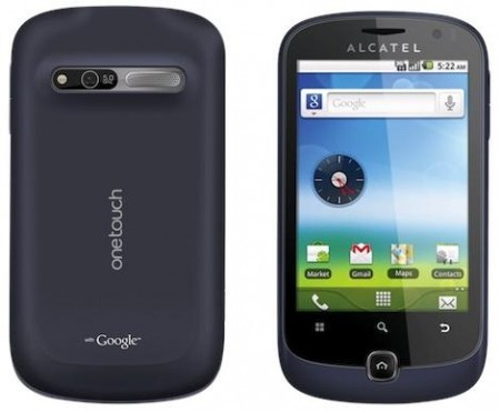 GSM Alcatel ONETOUCH 990