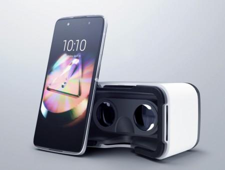 Смартфон Alcatel ONETOUCH Idol 4S 6070K + VR Glasses