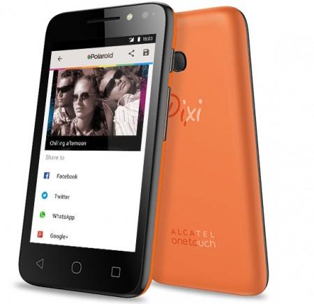 """Смартфон Alcatel ONETOUCH Pixi 4 4034D 4"""""""