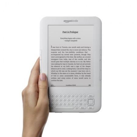 Електронна книга Amazon Kindle Wi- Fi + 3G