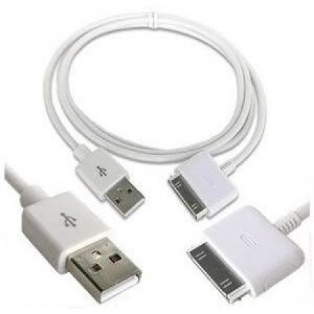 Кабел Apple Dock Connector to USB Cable