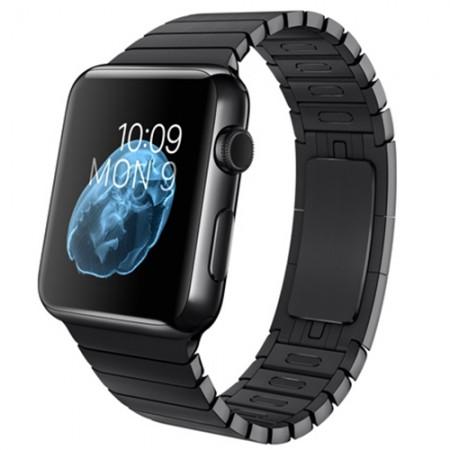 Smart Часовник Apple Stainless Steel Case Space Black Link Bracelet 38mm - MJ3F2(MJ3E2)
