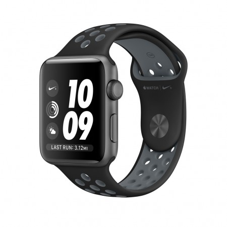 Apple Watch NIKE+ SPACE GRAY ALUMINUM BLACK/COOL GRAY NIKE SPORT 38MM - MNYY2