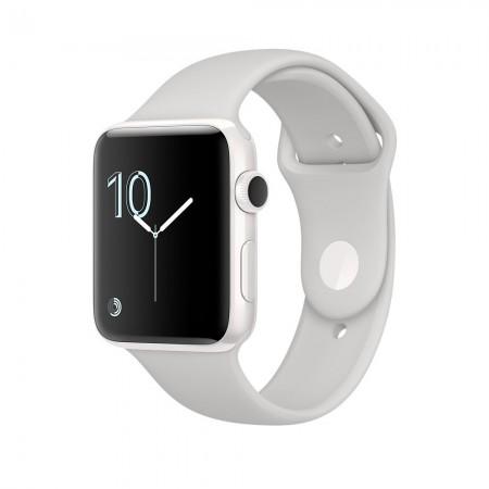 Smart Часовник Apple Watch Series 2  Ceramic Case Cloud Sport Band 42mm -  MNPQ2
