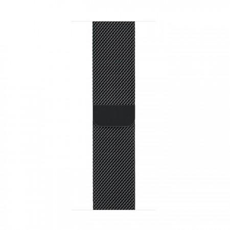 Цена Apple Watch Series 2  Stainless Steel Black Case Black Milanese Loop 42mm - MNQ12