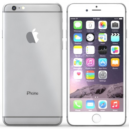 GSM втора употреба Apple iPhone 6 Plus 16GB WHITE-SILVER