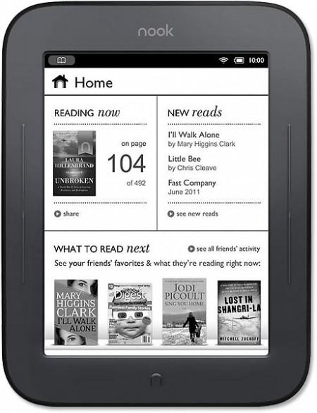 Електронна книга Barnes & Noble Nook Touch Wi- Fi