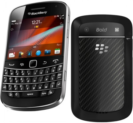 GSM BlackBerry 9900 Bold Touch