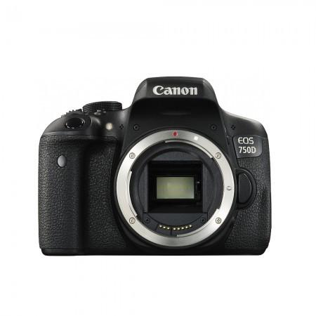 Фотоапарат Canon EOS 750D + обектив CANON EF-S 18-55 IS STM+подарък 120 лв премия в брой