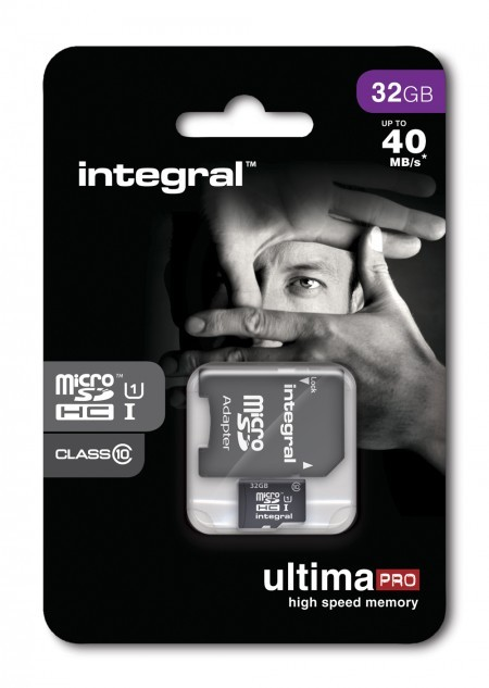 Карта памет Integral 32GB micro SDHC Ultima PRO (class 10) 40MB/s
