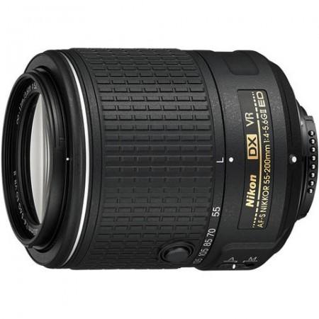 Обектив Nikon AF-S DX NIKKOR 55-200mm f/4-5.6G ED VR II