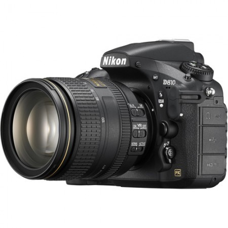 Фотоапарат Nikon D810+ обектив AF-S Nikkor 24-120mm f/4 G ED VR