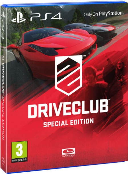 PlayStation PS4 Games DRIVECLUB Special Edition
