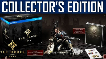 PlayStation PS4 Games The Order:1886 Collectors edition