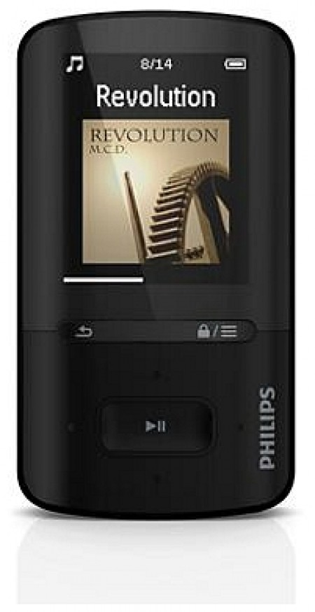 MP3 плейър Philips SA4VBE04KF
