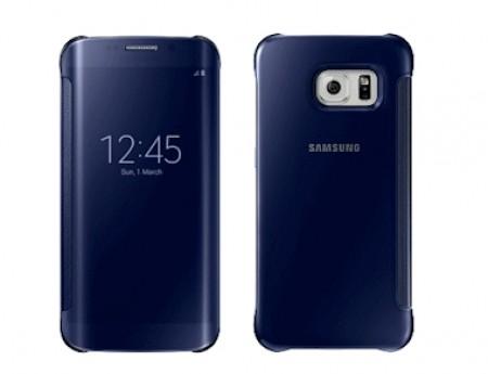 Калъф за SAMSUNG SAMSUNG G925 Galaxy S6 Edge Clear View Cover