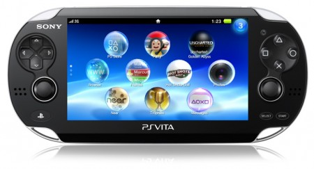 PlayStation Sony PS Vita 3G + 4GB memory cards подарък