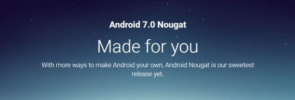 Android 7.0 Nougat е тук !