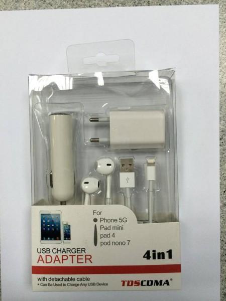 Зарядно за Apple TD-T012 4 in 1