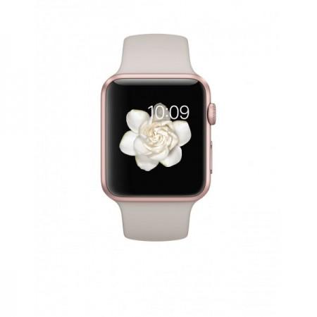 Smart Часовник Apple Watch Aluminium Rose Gold Case Lavender Sport Band 38mm - MLCH2