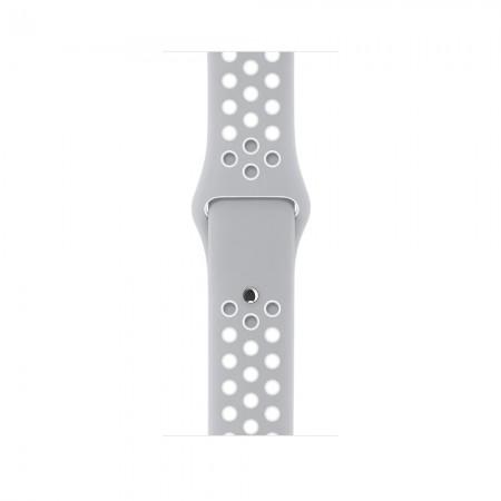 Цена Apple Watch NIKE+ SILVER ALUMINUM FLAT SILVER/WHITE NIKE SPORT 42MM - MNNT2
