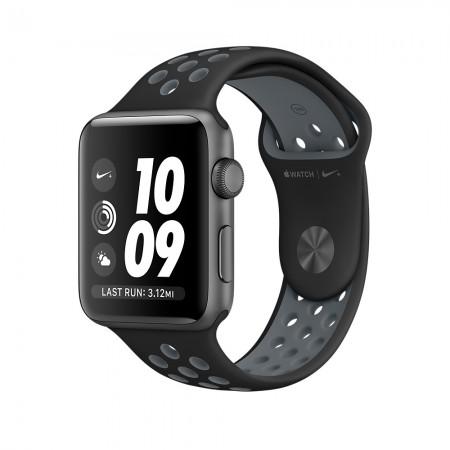 Smart Часовник Apple Watch NIKE+ SPACE GRAY ALUMINUM BLACK/COOL GRAY NIKE SPORT 42MM - MNYY2