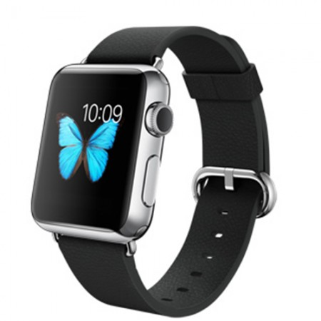 Smart Часовник Apple Watch Stainless Steel Case Classic Buckle 42mm - MJ3X2