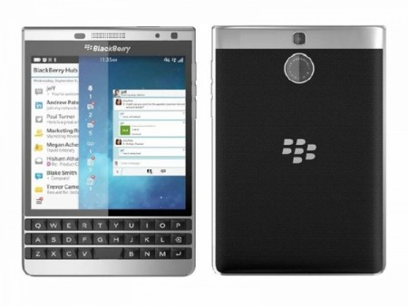 Смартфон BlackBerry Passport Silver Edition Dallas