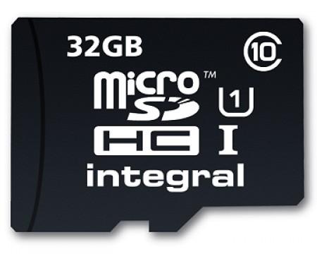 Карта памет Integral Integral 32GB micro SDHC Ultima PRO (class 10) 20MB/s
