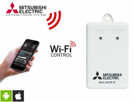 Управление на климатик Mitsubishi MAC558IF