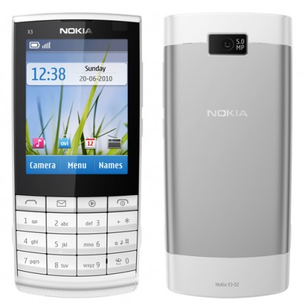 GSM втора употреба Nokia X3-02 Touch and Type