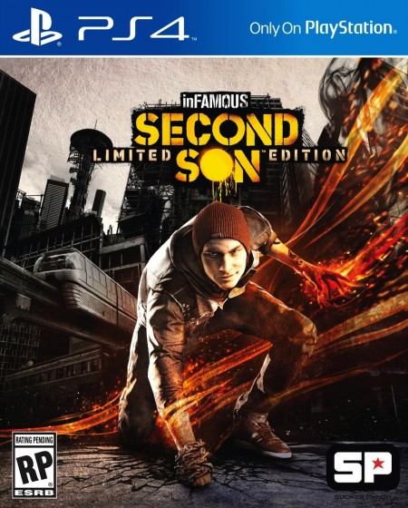 PlayStation PS4 Games InFamous: Second Son (PS4)