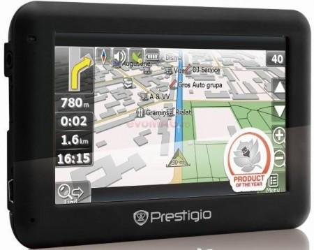 GPS навигация Prestigio GEO VISION  4050