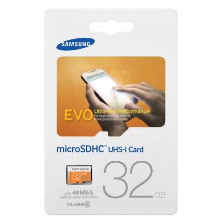 Карта памет Samsung Samsung 32GB micro SD Card Evo