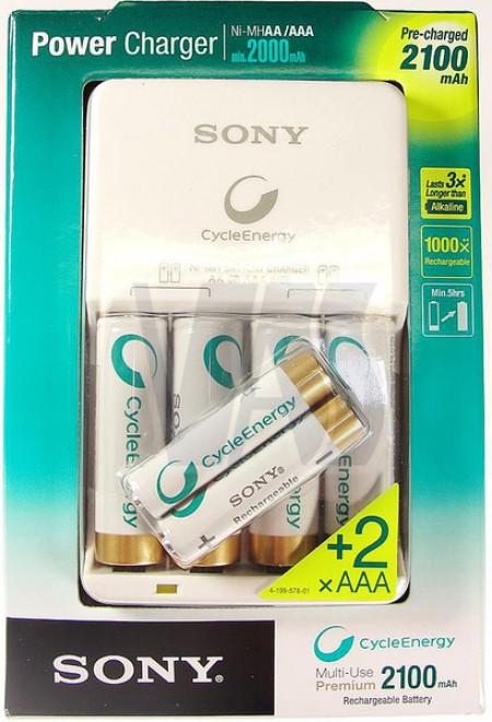 Зарядно устройство Sony BCG-34HH6KN