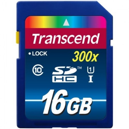 Карта памет Transcend 16GB SDHC UHS-I Premium Class 10 TS16GSDU1