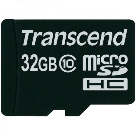 Карта памет Transcend 32GB micro SDHC 1 adapter - Class 10 TS32GUSDHC10