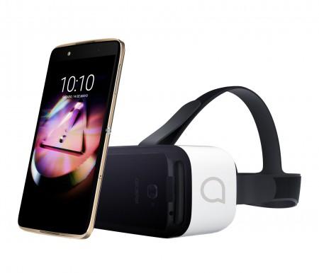 Смартфон Alcatel ONETOUCH Idol 4 6055K + VR Glasses