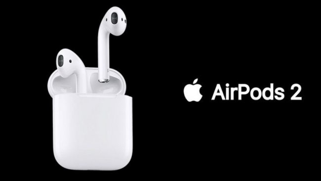 Слушалки Apple AirPods 2