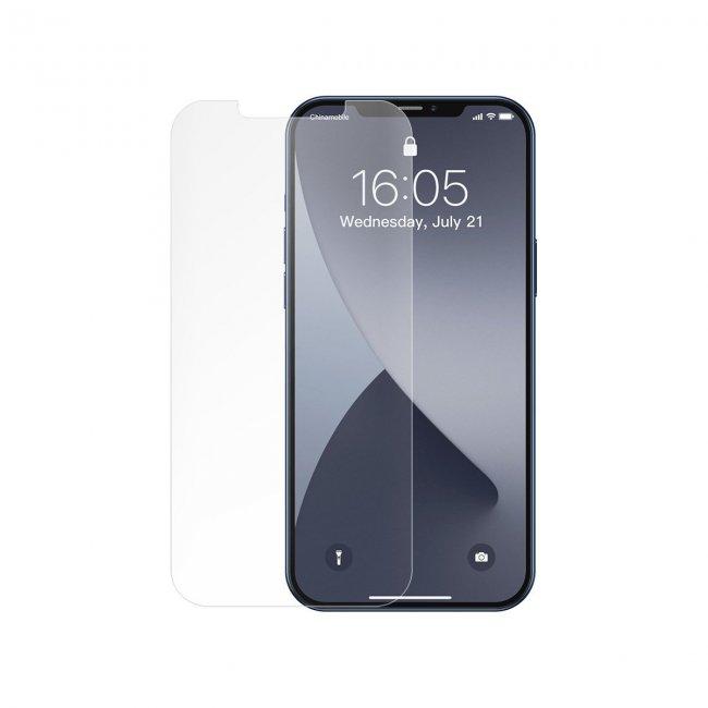 Стъклен Протектор за мобилен телефон Apple Baseus iPhone 12 Pro MAX 0,25mm Frosted explosion