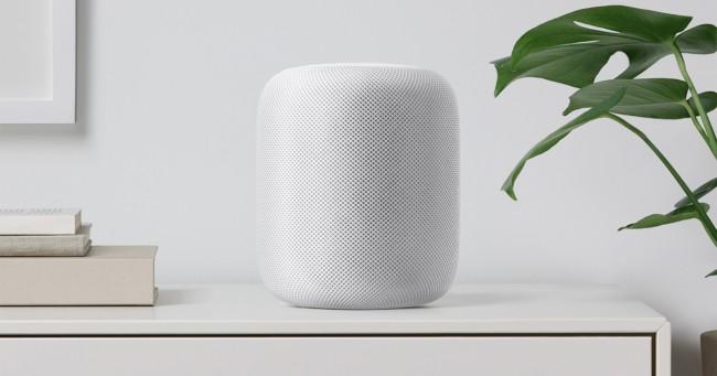 Снимки на Apple Homepod