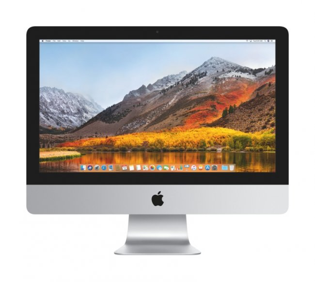 """Настолен компютър Apple iMac 21.5"""" i5 2.3GHz/8GB/256GB SSD/Intel Iris Plus Graphics 640/INT KB (MHK03ZE/A)"""