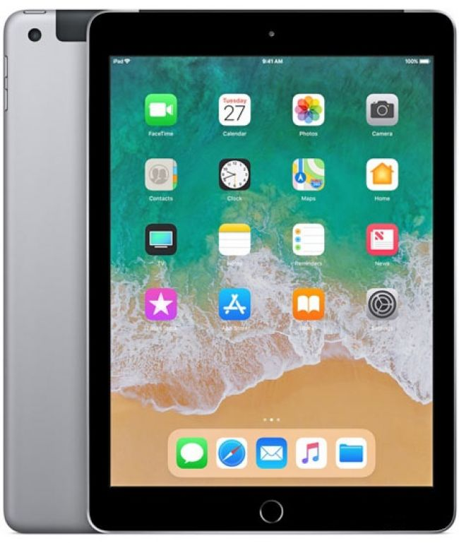 "Таблет Apple iPad 9.7"" 2018 Wi-Fi + 4G 128GB"