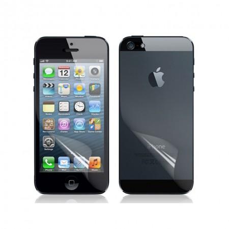 Стъклен Протектор за мобилен телефон Apple iPhone 5/5S/SE 2 in 1