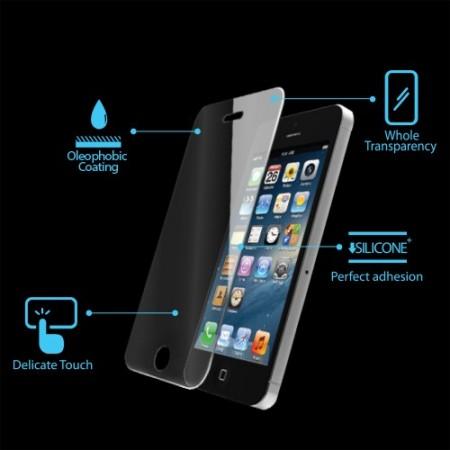 Стъклен Протектор за мобилен телефон Apple iPhone 5/5S/SE Glass