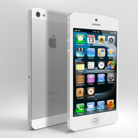 GSM Apple iPhone 5 64GB WHITE