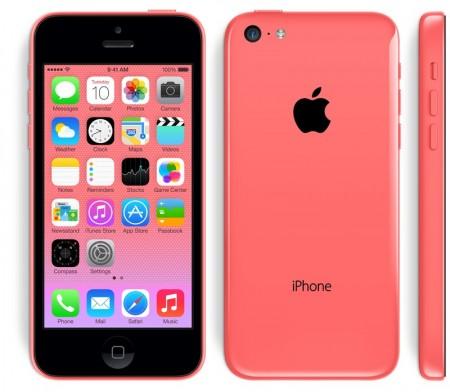 Снимки на Apple iPhone 5C