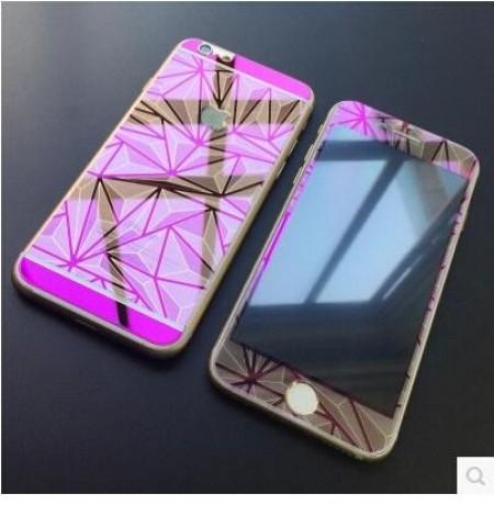 Стъклен Протектор за мобилен телефон Apple iPhone 6/6S Diamond Glass Back