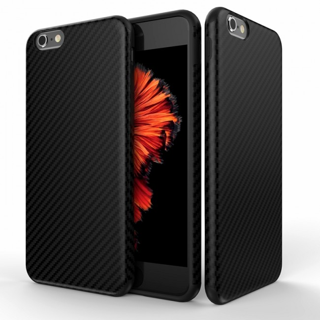 Калъф за Apple Iphone 6 BACK CASE CARBON