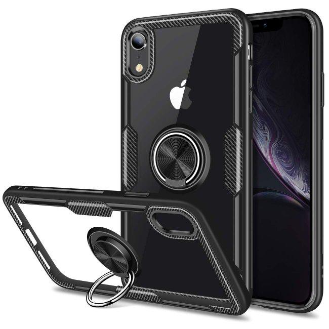 Калъф за Apple iPhone X / XS RING case твърд гръб